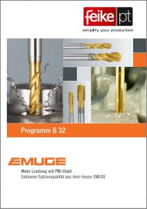 EMUGE DE PM-Programm B32 Feike