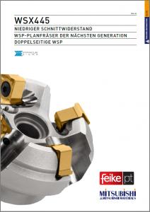 Planfräser WSX445-Feike